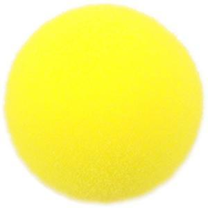 野球バッティングトレーニングボール スポンジ素材 黄色 42mm 6個入り|dstyleshop