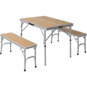 ベンチが収納されるオールインワンタイプ アウトドア・パーティ・イベント 様々なシーンで活躍 テーブル...