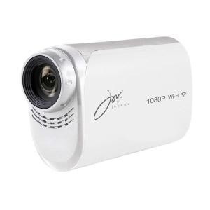 joyeux(ジョワイユ) 防水 フルハイビジョン WiFi 対応 アクションビデオカメラ ホワイト JOY200WH ホワイト|dstyleshop