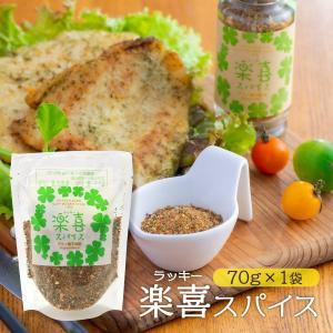 スパイス 宮崎 福島 香辛料・スパイス 福島精肉店 楽喜(ラッキー)スパイス 袋入り 70g