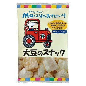 スナック お菓子 メイシー スナック菓子 [創健社] メイシーのおきにいり 大豆のスナック 35g