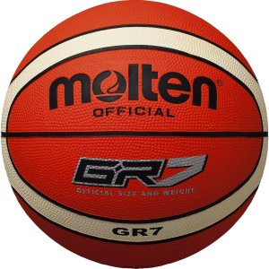 バスケ ボール モルテン 7号 molten(モルテン) バスケットボール GR7 BGR7-OI オレンジ×アイボリー|dstyleshop