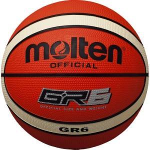 バスケ ボール モルテン 6号 molten(モルテン) バスケットボール GR6 BGR6-OI オレンジ×アイボリー 6号|dstyleshop