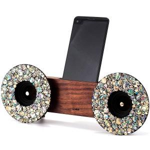スマホ アクセサリー 周辺機器 アウトドア iphone インテリアOllim 天然木製スピーカースタンド Ollim Y04c|dstyleshop