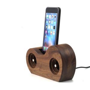 スマホ アクセサリー 周辺機器 アウトドア iphone インテリア Ollim 天然木製スピーカースタンド Ollim Y05|dstyleshop