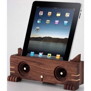 スマホ アクセサリー パーティー アウトドア iphone インテリア 猫 Ollim 天然木製スピーカースタンド Ollim K04b|dstyleshop