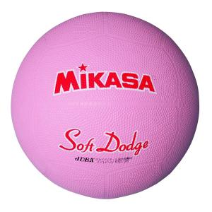 MIKASA ミカサ ソフトドッジボール2号 軽量190g  小学校用 STD-2R|dstyleshop