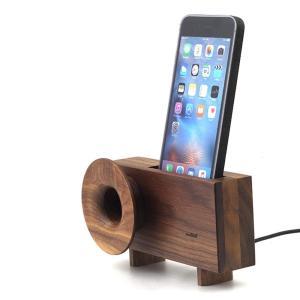 スマホ アクセサリー 周辺機器 アウトドア iphone インテリア Ollim 天然木製スピーカースタンド Ollim|dstyleshop