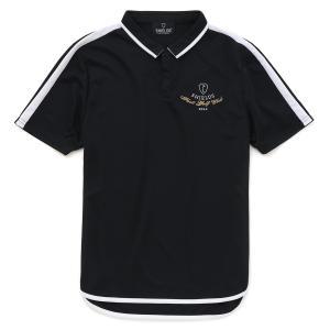 シールズ シャツ ポロシャツ ブロックパターン ドライ フットゴルフウェア SHFG-1508|dstyleshop