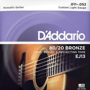 D'Addario EJ13 Custom Light 01...