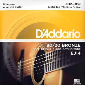 D'Addario EJ14 Bluegrass 012-0...