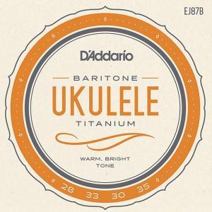 D'Addario Pro-Arte Titanium EJ87B Baritone ダダリオ チタニウム ウクレレ弦 バリトン|dt-g-s