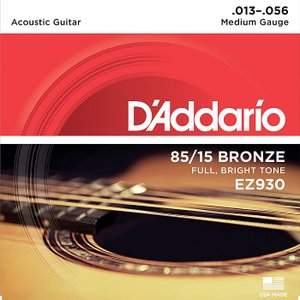 D'Addario EZ930 Medium 013-056...