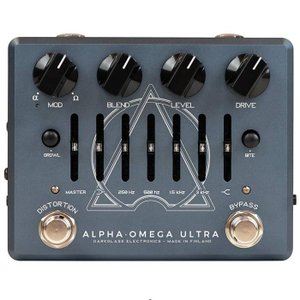 Darkglass Electronics Alpha Omega Ultra v2 with AUX IN プリアンプ/ディストーション|dt-g-s
