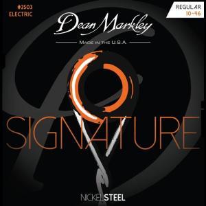 Dean Markley #2503 Nickel Steel Electric Signature 010-046 ディーンマークレー エレキ弦|dt-g-s