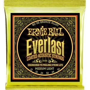 Ernie Ball Everlast Coated #2556 Medium Light 012-054 アーニーボール 80/20ブロンズ アコギ弦 dt-g-s