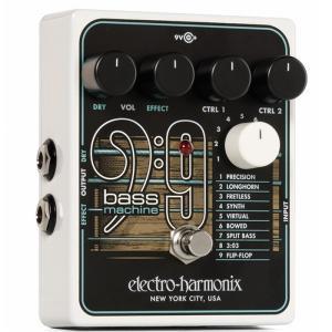 BASS 9 Bass Machineは特別なピックアップやMIDI、改造を必要とせずに、ギターサウ...