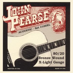 John Pearse #100XL Extra Light 010-047 ジョン ピアース 80...