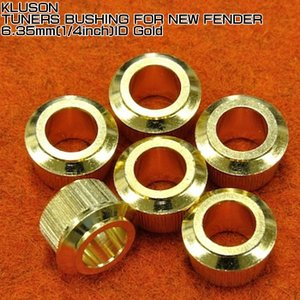 Kluson Tuner Bushings for Fender 1/4 inch ID Gold ...