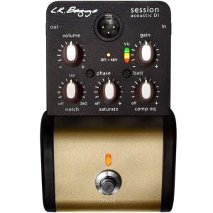 Session Acoustic D.I. は音を増幅しイコライザーでトーンを調整するだけではなく、...