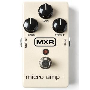 クリーンブスーター、プリアンプ的使用の草分け的存在「Micro Amp」をチューンアップ。ゲインブー...
