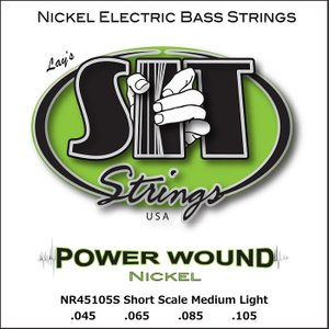 SIT Power Wound NR45105S 045-105 エスアイティー ベース弦 ショートスケール|dt-g-s