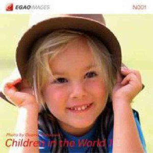 EGAOIMAGES N001 海外の子供「世界で遊ぶ1」|dtp
