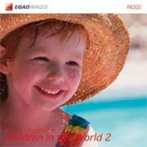 EGAOIMAGES N002 海外の子供「世界で遊ぶ2」|dtp