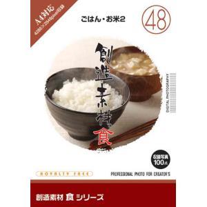 創造素材 食シリーズ[48]ごはん・お米2|dtp