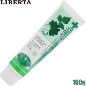 ゆうパケットのみ送料無料 リベルタ デンティス チューブタイプ 100g 歯磨き粉|dual-store