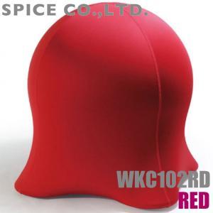 送料無料 スパイス ジェリーフィッシュチェア スタンダード レッド WKC102RD エクササイズ器具 dual-store