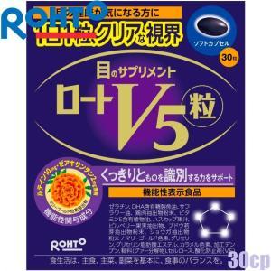 ゆうパケット可 ロート製薬 ロートV5粒 30粒/30日分 ルテインゼアキサンチン含有食品 dual-store
