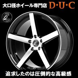 FZ568 19インチ8.5JJ&10.0JJ『FZ-568』タイヤ付セット『5H-PCD114.3』『ポリッシュxブラック』 アルファード ヴェルファイア セルシオ クラウン|duc-by-ulysses-inc