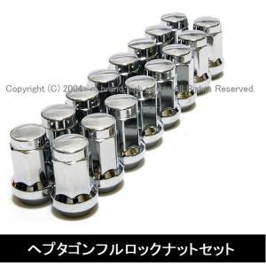 『単独販売不可』 ホイールセット及びワイトレ同梱専用 ヘプタゴンロックナット20個セット 『M12xP1.5』 『M12xP1.25』『5H用/1台分』赤/黒/メッキ duc-by-ulysses-inc