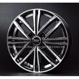 PS4 軽用15インチ『Leowing PS Four/レオウィング ピーエスフォー』165/50R15 165/55R15タイヤ付セット『15-5.0JJ』『4H-PCD100』ブラック&リムポリッシュ|duc-by-ulysses-inc