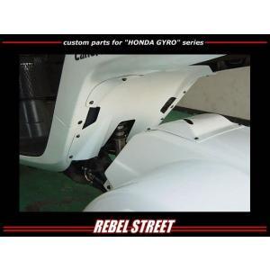 [REBEL STREET] レベルストリート ジャイロキャノピー用リアアンダーカバー ducacraft