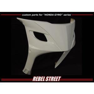 [REBEL STREET] レベルストリート ジャイロキャノピー用フロントフェイス ducacraft