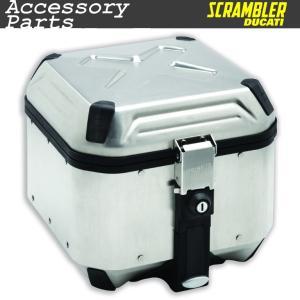 ★Scrambler新800/1100用 アルミニウム製トップケース|ducatiosakawest