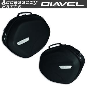 ★セミハードダブルサイドバッグ(ディアベル1260用) ※要バックレストセット|ducatiosakawest