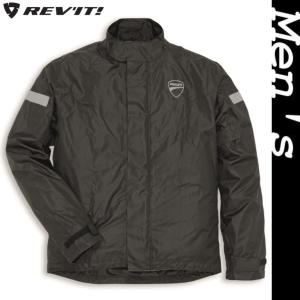 ★Strada 2 レインスーツジャケット 黒 サイズM (with REV'IT)|ducatiosakawest