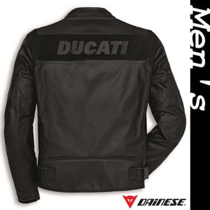 ★Ducati C2 レザージャケット 黒 サイズ48 (with DAINESE)|ducatiosakawest