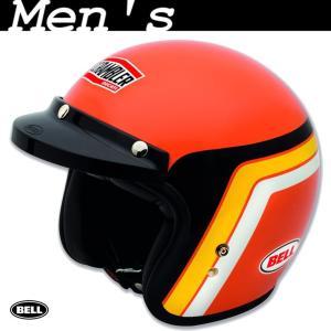 ★SALE対象30%OFF★Orange Track ジェットヘルメット サイズM (with BELL) ducatiosakawest