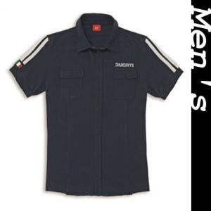 ☆80's ショートスリーブシャツ L|ducatiosakawest