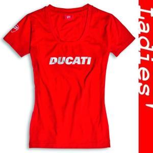 ★SALE対象25%OFF★Ducatiana レディースTシャツ 赤 サイズM|ducatiosakawest
