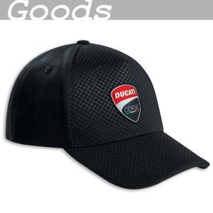 ★Ducati Corse Total Black キャップ|ducatiosakawest