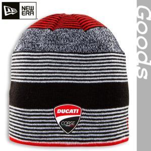 ★Corse Linestripe knit キャップ (with NEW ERA)|ducatiosakawest