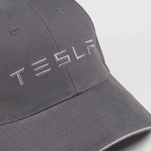 TESLA Leather Trim Hat テスラ純正 レザートリムハット (Model S/Model X) キャップCap 帽子|ducatism
