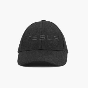 TESLA Premium Wordmark Hat テスラ純正 プレミアムワールドマークハット (Model S/Model X) キャップCap 帽子|ducatism