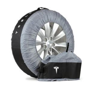 TESLA MODEL S  テスラモーターズ純正 モデルS Tire Tote タイヤトート タイヤカバー 2本用set|ducatism