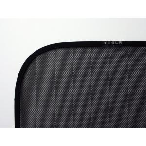 TESLA Model S Rear Liftgate Sunshade テスラ 純正 モデルS 専用 リフトゲート サンシェード|ducatism